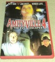 Amityville 4 :The Evil Escapes 1989, DVD, Patty Duke RARE oop *HORROR *HALLOWEEN