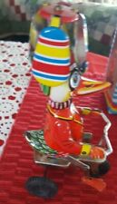 WIND-UP FUNNY ACTION  DUCK ON BIKE ◇  BEIJING NO. 1 TOY FACTORY ◇ MADE IN CHINA