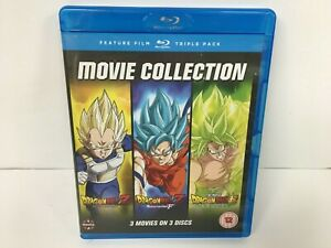 DRAGON BALL Z MOVIE TRILOGY PART 1 2 3 BLU RAY COLLECTION - 72313/BSC