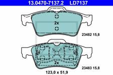 Conjunto de guarnición freno de disco ate Ceramic-ate 13.0470-7137.2