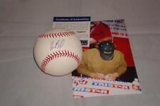 Homer Bailey signed Official Major League Baseball - 2x No Hit Pitcher - PSA/DNA
