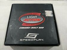 SPEEDPLAY LIGHT ACTION CHROME-MOLY RED