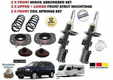 FOR VOLVO XC90 2002> TOWING 2X FRONT STRUT MOUNTING + SHOCKERS + COIL SPRING KIT