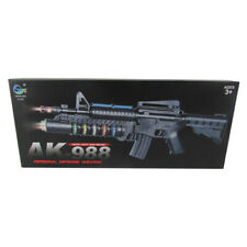 New High Quality Pretend Role Play Toy Gun AK-988 Rifle with Lights & Sounds