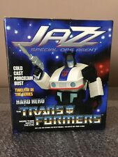 Hasbro 2004 Hard Hero G1 Transformers Jazz Mini Bust, Brand New Sealed Look!!!