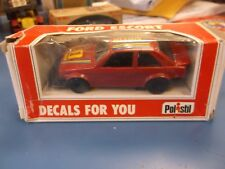Polistil 1:40 Decals For You E2012 Castrol Ford Escort In Red