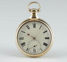 Important deck watch with rack lever escapement, M. I. Tobias & Cie 1826