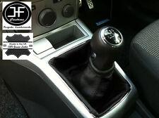 NERO si adatta a Opel Vauxhall Astra H Mk5 Mkv STICK GEAR Ghetta in pelle