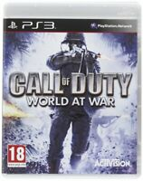 Call of Duty World at War PS3 - Brand New - Free Shipping!