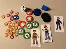 Misc Parts Pieces Cards Tokens Pokemon Master Trainer Board Game Character Dice