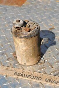 Vintage Round Hit Miss Gas Engine Auto Spark Coil