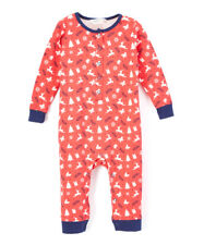 Girl's Beebay Precious Reindeer Print Full Play Suit size 6-9 Months 6/9M Romper