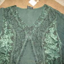 BNWT LARGE LADY 3XL EMBROIDERED LONG MAXI DRESS KAFTAN TOP TUNIC ETHNIC HIPPY