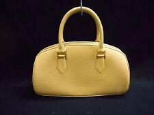 Authentic LOUIS VUITTON Epi Jasmin M5208A Vanilla Handbag TH1002 w/ Box