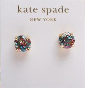 Kate Spade New York Multi Glitter Round Stud Earrings