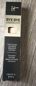 It Bye Bye Under Eye Concealer Light Full Coverage Anti Aging Waterproof New