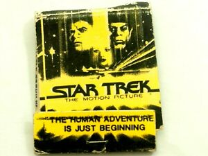 Star Trek The Motion Picture Match Book 1979