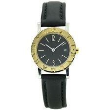Bulgari Bulgari Women's Two-Tone Quartz Watch Stainless Steel 18k Gold BB 26