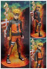 "Naruto Shippuden Uzumaki Naruto manga dimensions paint PVC figure gift 10"" nobox"