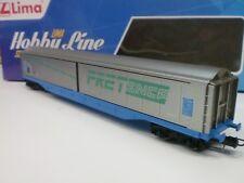 LIMA HL 6103 - CARRO MERCI CON PARETI SCORREVOLI FRET SNCF assi in metallo - HO