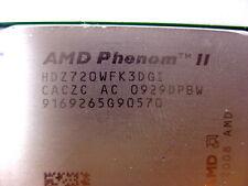 AMD Phenom II X3 720 Black Edition HDZ720WFK3DGI 2.8 GHz CPU - Tested