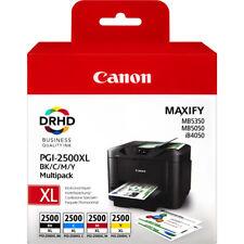 Genuine Canon PGI-2500XL CMYK Ink Cartridge for Maxify iB4050 MB5050 MB5350