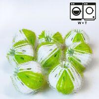 8 Stück Anti-Fusselbälle für Waschmaschine u Wäschetrockner Fussel Flusen Fänger