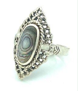 Silver Ring - 3,30 G - 925 - Ethnic