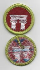 "Architecture Merit Badge, Type L, ""Since 1910"" Back (2012-Current)"