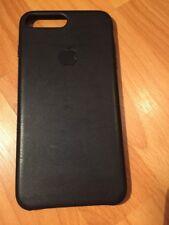 Genuine Apple iPhone 7/8 Plus Leather Case Black Fast Dispatch