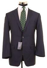 NWT Hugo Boss Navy Blue Woven Wool Sport Coat Jacket Blazer 42 L NEW