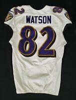 #82 Benjamin Watson of Ravens NFL Practice Worn Jersey - BR 1846