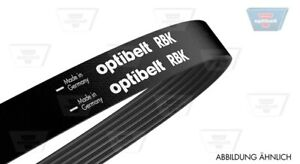 Optibelt Multi Groove Belt for Mercedes-Benz 190 W201 2.3L Petrol  1985-1987