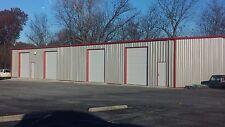 40'x45'x10' Steel Garage/Workshop Building Kit Excel Metal Building Systems Inc