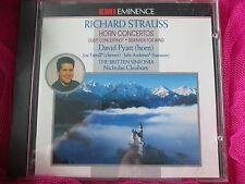 Richard Strauss Horn Concertos Britten Sinfonia EMI CD Album