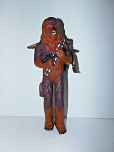 """Vintage 1995 Applause Star Wars Chewbacca with C3P0 Vinyl 11"""" Figure MINT"""