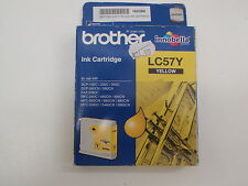 BROTHER LC57Y YELLOW INK CARTRIDGE FOR DCP-13OC/330C/350C DCP-540CN/560CN