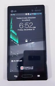 """T-moBile locked LG Optimus L9 P769 4GB 4.5"""" 5MP 1GB Ram/ SOLD AS IS/Working"""