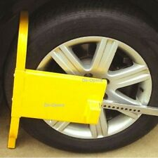 HEAVY DUTY CLAMP CAR VAN WHEEL SAFETY LOCK FOR CARAVANS TRAILERS SMALL TRUCKS