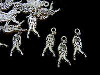 10 Pcs - Tibetan Silver Walking Dead Zombie Charms Pendant Halloween Man S35