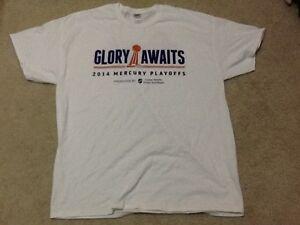 NEW Phoenix Mercury WNBA Playoff Championship T-Shirt EXTA LARGE XL Men's 2014