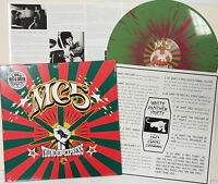 MC5 'Thunder Express' limited edition red & green splattered vinyl LP, notes