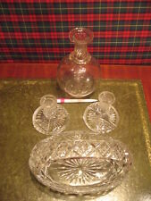 Britain Date-Lined Glass Candle Holders