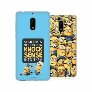 OFFICIAL DESPICABLE ME FUNNY MINIONS GEL CASE FOR NOKIA PHONES 1