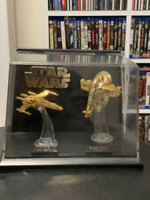 STAR WARD - Gold Plated Figurins (with C.O.A.)