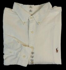 ad8e96fbd Polo Ralph Lauren Pony Button Up Long Sleeves Classic Fit Oxford Dress Shirt  4XB