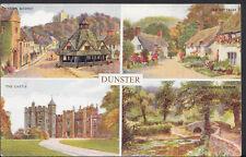 Somerset Postcard - Views of Dunster     RS2176