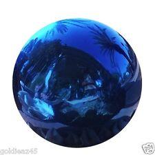 "4"" Stainless Steel Blue Gazing Ball GlobeVCS BLU04"