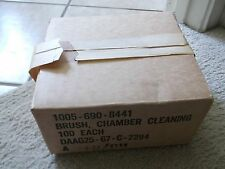 VIETNAM ERA 1967 NEW CLEANING CHAMBER BRUSH CAL-30 BRONZE #7790763 LOT OF 100