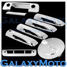 09-15 Dodge Ram Chrome 4 Door Handle+Tailgate+KH+Camera Hole+Gas+3rd Brake Cover